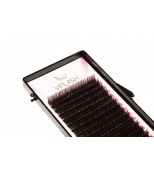 Ресницы Viplash Горький шоколад (шелк) 16 линий Изгиб C D