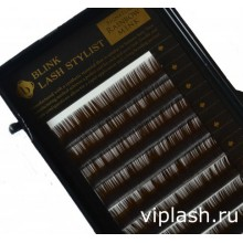 AG Beauty Mink (12 линий) коричневые ресницы Изгиб C