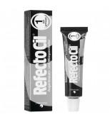 Краска REFECTOCIL для бровей и ресниц №1 Чёрный (15 мл)
