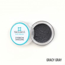 "Тени для бровей ""Nikonorova Profi Collection"" GRACY GRAY"