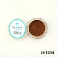 "Тени для бровей ""Nikonorova Profi Collection""  SHY BROWN"
