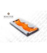 Ресницы перья оранжевые