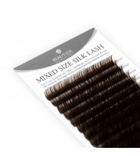 Beautier Silk (шелк) коричневый 16 линий Изгиб C D