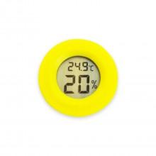 Мини Термометр для измерения влажности желтый
