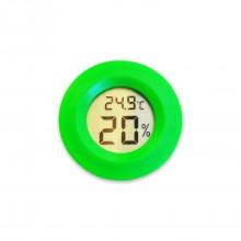 Мини Термометр для измерения влажности зеленый