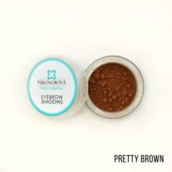 "Тени для бровей ""Nikonorova Profi Collection"" PRETTY BROWN"