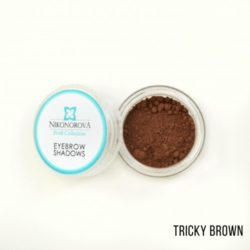 "Тени для бровей ""Nikonorova Profi Collection"" TRICKY BROWN"