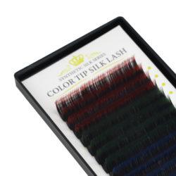 Ресницы Beautier Silk (Шелк) Оттеночные 16 линий Изгиб C D