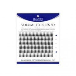 Ресницы Beautier 3D volume Черный 6 линий Изгиб C