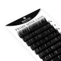 Ресницы Beautier (Шелк) Черный 16 линий Изгиб C D