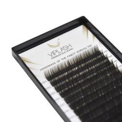 Ресницы Viplash Black Coffee silk (Шелк) Микс 6-12 мм 16 линий Изгиб C